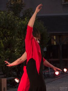 Photographie d'un spectacle de Flamenco