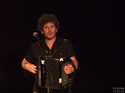 François Gaillard d'Envoyés Spécials chez Renaud au Festival Merci Les Potes