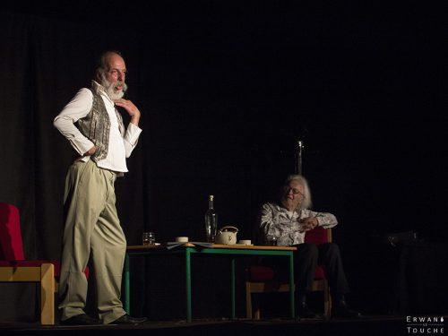 Walter et John, spectacle avec Daniel Gros et Patrick Font