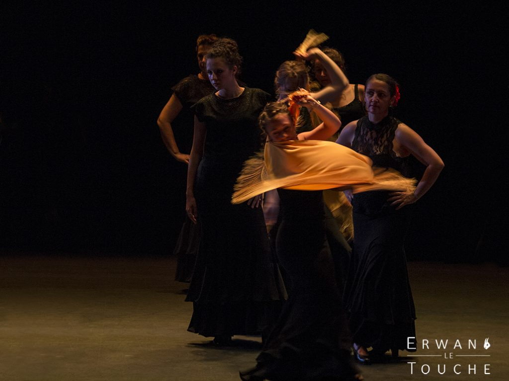 Photographie du spectacle Antonia Flamenco au Gérard Philipe de St Jean de Maurienne
