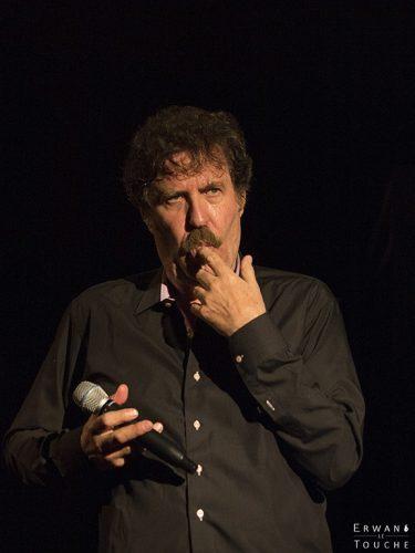 Photographie de Serge llado au festival Merci les potes