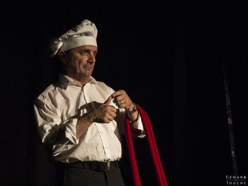 Photographie de Pierre Aucaigne au festival Merci les potes