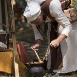 Photographie de la fête médiéval La Légende de Maurienne