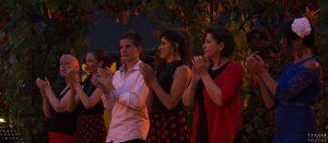 Une partie de la troupe de danseuses Antonia Flamenco