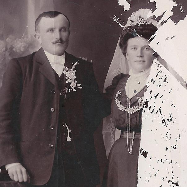 vignette photo mariage