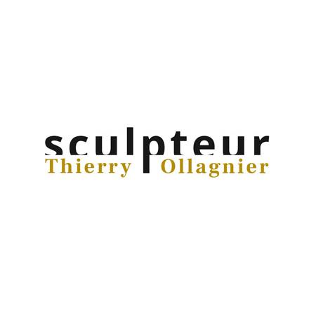 logo du site du sculpteur Thierry Ollagnier