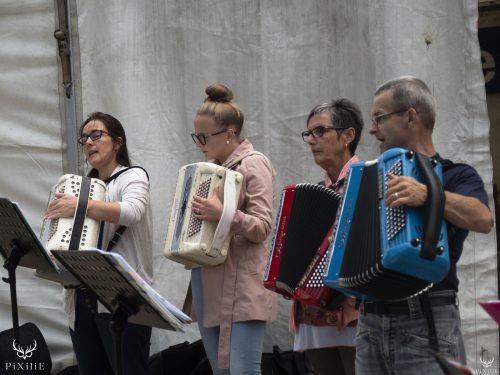 L'école accordéon Festival Merci Les Potes