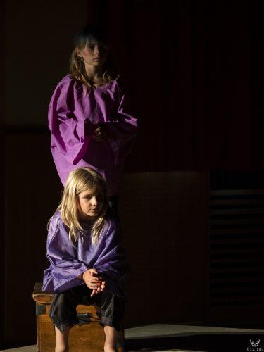 Les enfants de Théâtre en Maurienne
