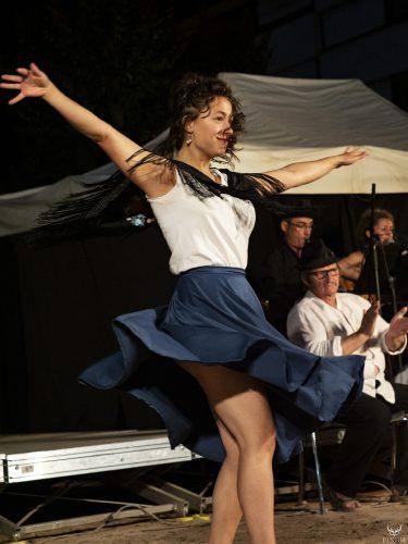 Antonia Flamenco au festival Merci les potes à Fourneaux