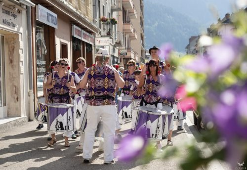 Timb'Alu au festival Merci les potes à Fourneaux