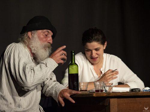 Daniel Gros et Laura Rojas au festival Merci les potes à Fourneaux