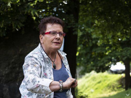 Lucienne Zinant au festival Merci les potes à Fourneaux