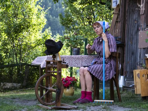 Martine Desbiolles au festival Merci les potes à Fourneaux